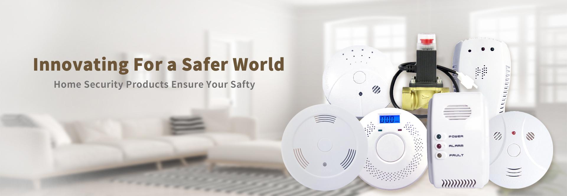smoke detector, carbonmonoxide detector, fas detector, water alarm